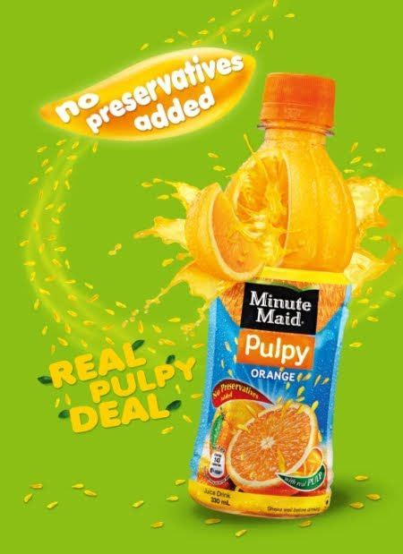 minute maid juice real pulpy deal advertising campaign