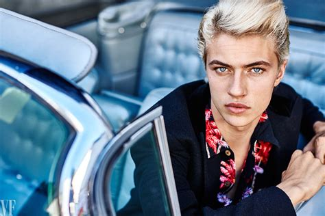 Blue Jeanne Model by Lucky Blue Smith For Vanity Fair Photographed By Dewey Nicks