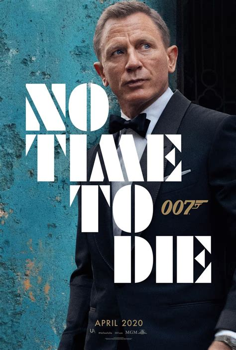 No Time to Die (2020) Movie Trailer & Posters – Death By Films