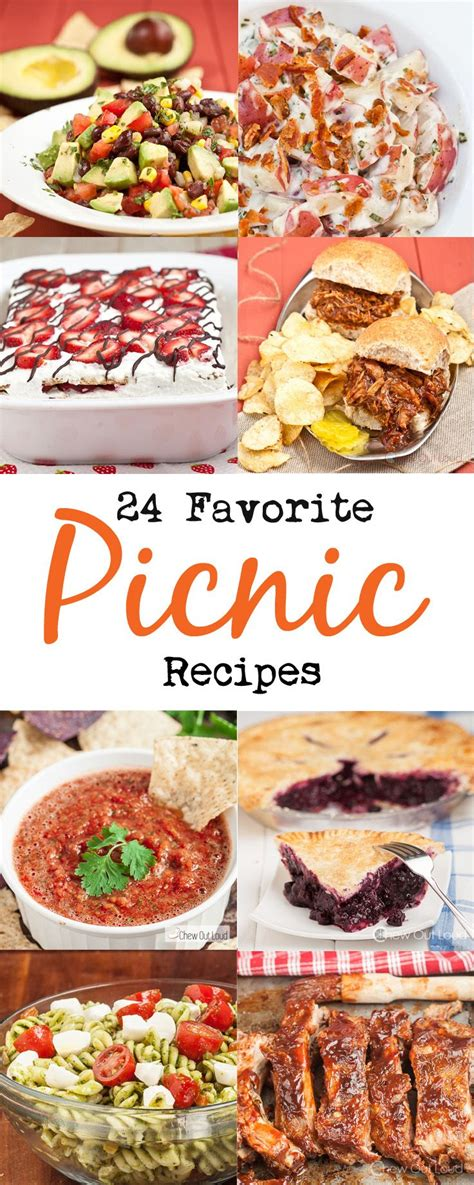 Picnic Food Ideas For Boating by 24 Favorite Picnic Recipes Recipies Picnics And Summer