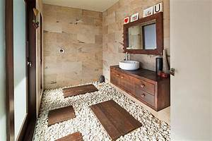 30 Exquisite Inspired Bathrooms With Stone Walls
