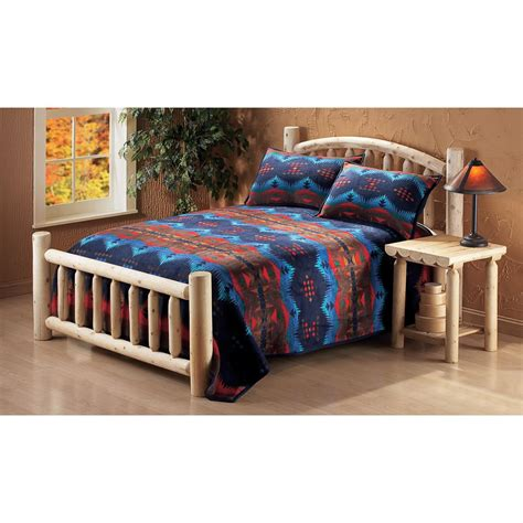 rustic natural cedar furniture company cedar log twin