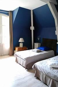 Chambre Bleu Nuit. couleur chambre parquet bleu pr l vement d 39 ...