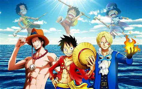 piece   brothers ace luffy sabo