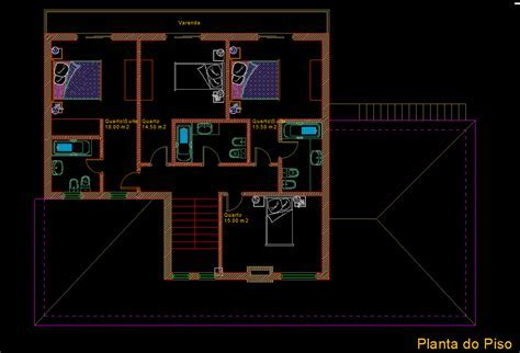 Small House with Garden 2D DWG Plan for AutoCAD ? Designs CAD