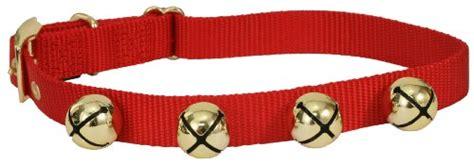 christmas jingle bell dog collars winter and themed collars