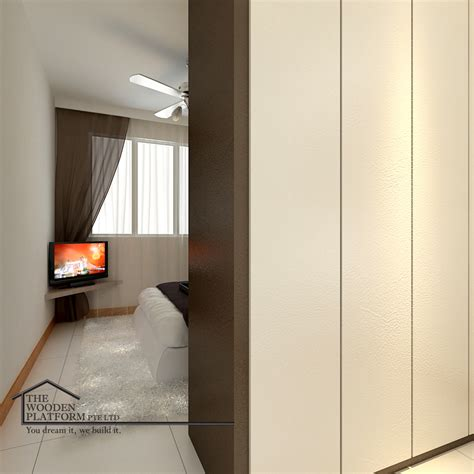 wooden platform singapore  interior designer