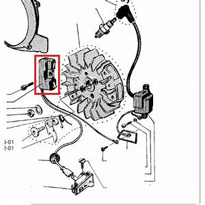 Genuine Husqvarna 61 162 266 Ignition Coil   Only For Old