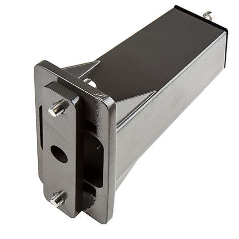 led shoebox light square mount fixed arm kit for led shoebox area light