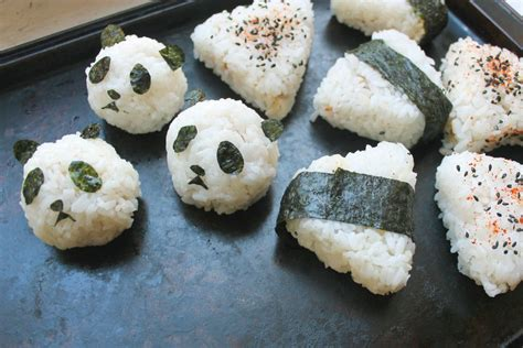 rice balls onigiri 101 how to make japanese rice balls diy lunch recipes