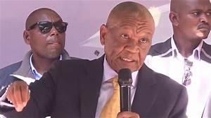 Leader of ABC - Dr. Motsoahae Thabane - Lesotho Politics ...
