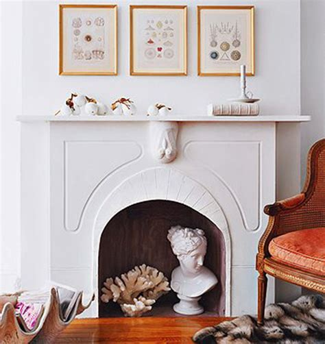 decorate inside fireplace 10 creative ways to decorate your non working fireplace freshome com