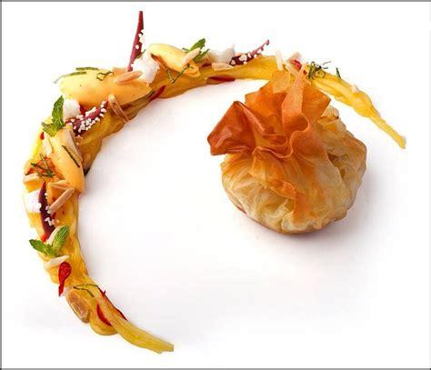 dressage des assiettes en cuisine aumônière visions gourmandes