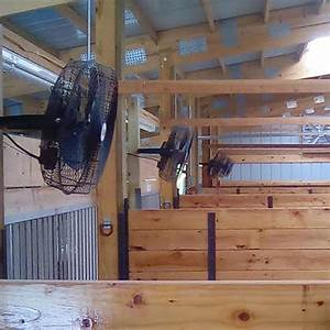18quot basket fan ramm horse fencing stalls With barn stall fans