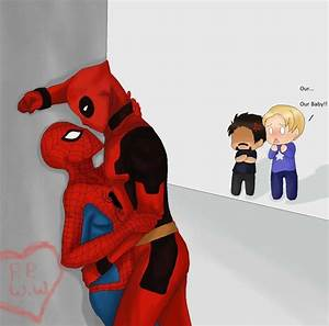 Spiderman x Deadpool by DevilishxUke on DeviantArt