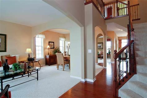 craftsman style home interiors house stairs