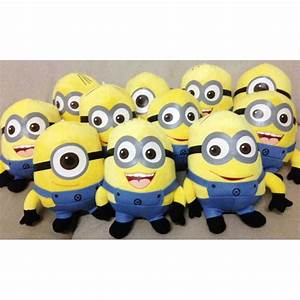 Buy Dave, Stuart and Jorge Minion Plush Soft Toy - Pack of ...