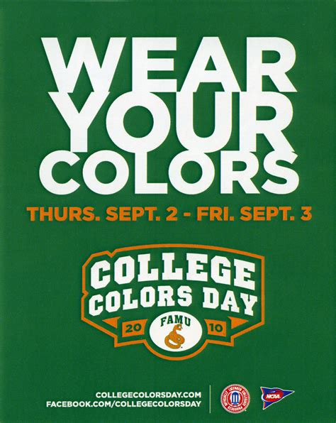 national college colors day office of communications florida agricultural and