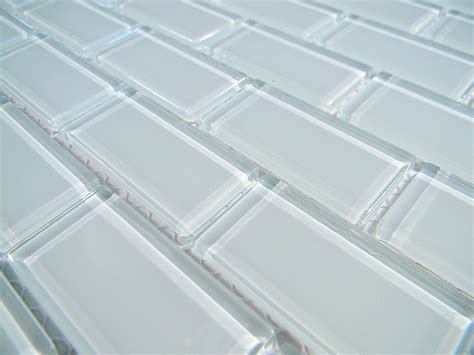crystal glass tile  arctic ice polish brick glass