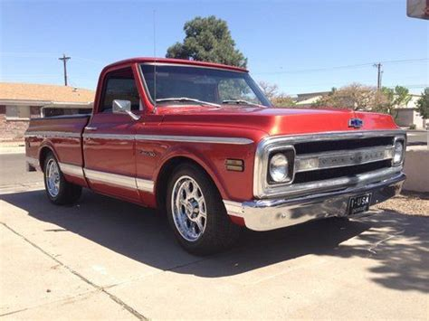 Sell Used 1969 Chevy C10 Cst Short Wide In Albuquerque