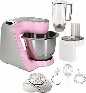 Bosch Küchenmaschine Rosa : bosch k chenmaschine creationline mum58k20 1000 watt mit viel zubeh r online kaufen otto ~ Watch28wear.com Haus und Dekorationen