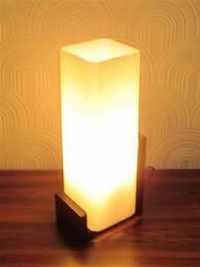 Lampe Mit Holzfuß : 01444 60er jahre tischlampe mit holzfu wandel antik ~ Eleganceandgraceweddings.com Haus und Dekorationen