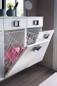 Meuble Salle De Bain Avec Lave Linge Integre : meuble salle de bain panier a linge integre survl com ~ Preciouscoupons.com Idées de Décoration