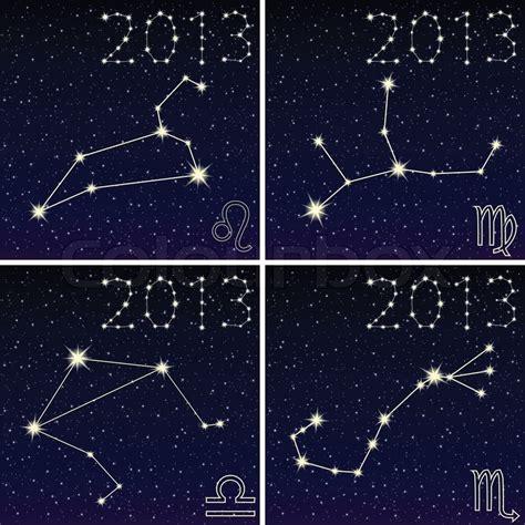 constellation  leo virgo libra scorpius