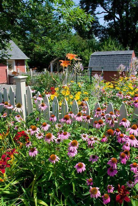 Backyard Garden Florist by Perennial Flower Garden In Summer Backyard Garden