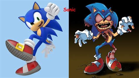 Sonic As Zombies Sonic Characters As Monsters 2017