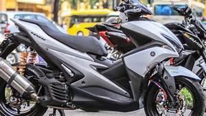 Yamaha Aerox 155 Modified