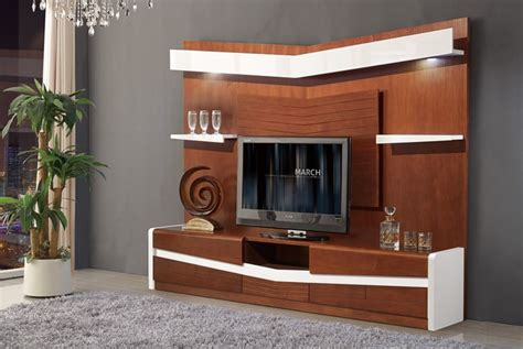 Living room tv wall unit designs for cabinet india lcd panel. 2017 Living Room Wooden Furniture Chinese Tv Stand Design ...