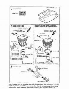 Page 2 Diagram  U0026 Parts List For Model 350 Husqvarna