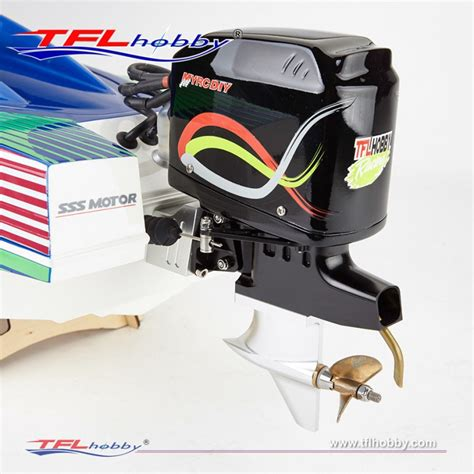 Model Boat Brushless Motors by 1148 Warrior 35 Quot Outboard Brushless Rc Boat