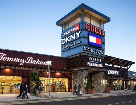 about seattle premium outlets 174 a shopping center in