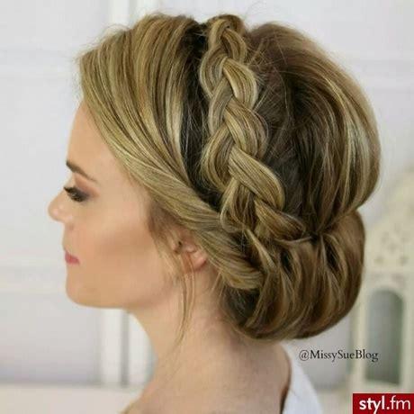 eleganckie fryzury na wesele
