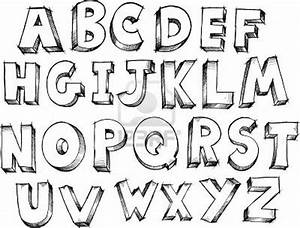 image detail for sketch doodle alphabet letters vector With letter pictures alphabet