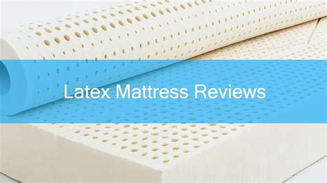 Best Latex Mattress Reviews: An Essential Buyers Guide (2018