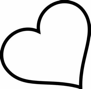 Cute Heart Clipart Black And White - clipartsgram.com