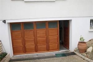 megebat menuiserie la creche niort exterieure interieure With porte de garage avec porte pieton