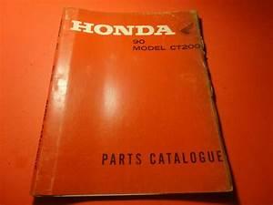 Oem Original Honda Parts List Catalog Catalogue Manual