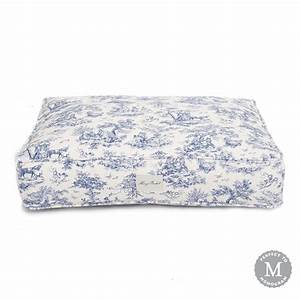 toile rectangle dog bed cover harry barker dog beds and With toile dog bed