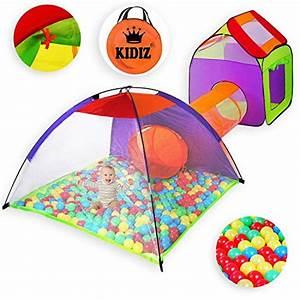 Kinderzelt Mit Bällen : kidiz spielzelt spielhaus babyzelt 200 b lle b llebad ~ Watch28wear.com Haus und Dekorationen