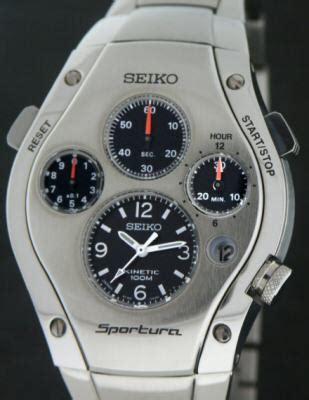 seiko sportura wrist watches sportura chronograph slq