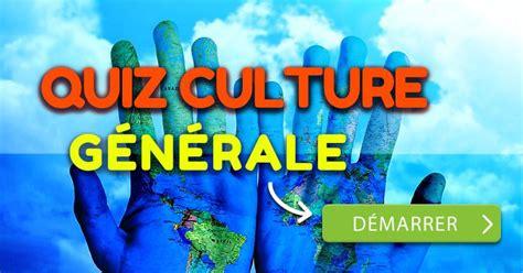 quiz culture generale