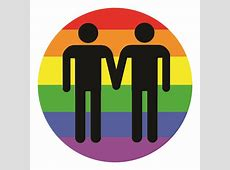 Gay Love LGBT RIghts Rainbow Symbol Stickers, buttons