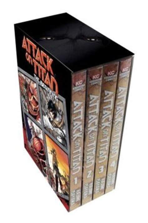 attack  titan  beginning box set  hajime isayama