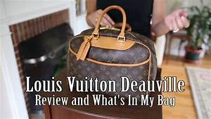 Louis Vuitton Deauville - Review and What's In My Bag ...