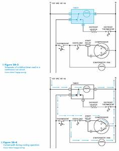 Defrost Timer Circuits Schematic Diagram Sample And