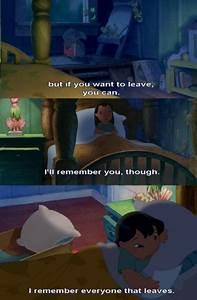 Lilo And Stitch Sad Quotes. QuotesGram
